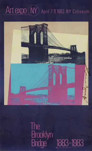 Andy Warhol, 'The Brooklyn Bridge 1883-1983 (Not In F./S.)', 1983, Doyle