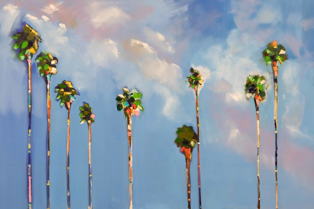, '9 Palms Cloudy,' 2017, Caldwell Snyder Gallery