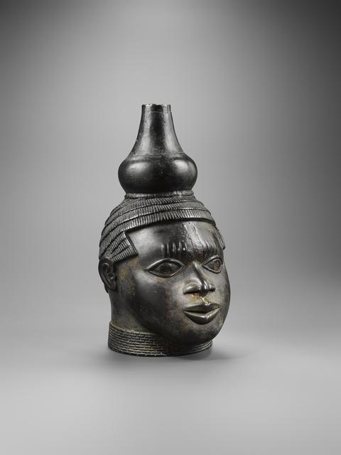 , 'Benin bronze head with gourd,' 15, Entwistle