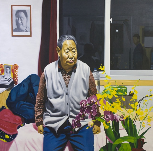 , 'The Old Man and the Flowers,' 2012, ARoS Aarhus Art Museum
