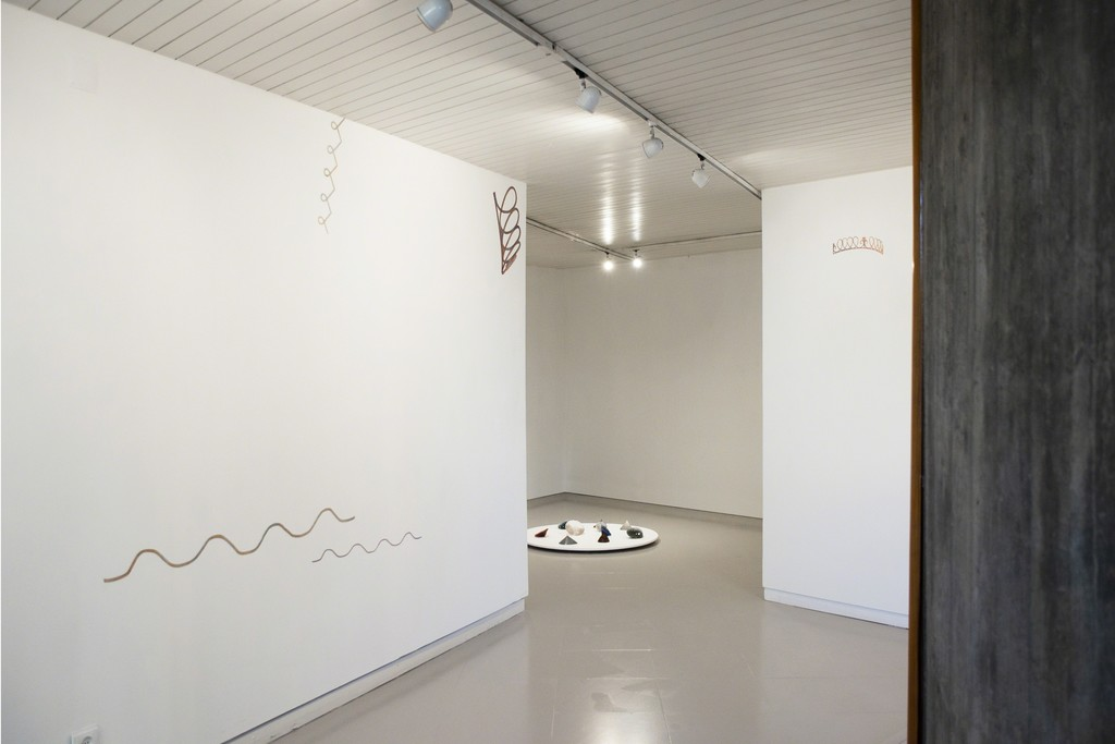 Instalation view - lower floor