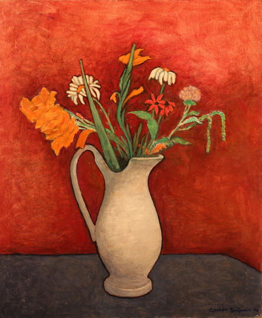 , 'Still Life on Blue Table,' 1983, Gerald Peters Gallery