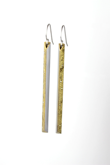 , 'Lunar Linea Earrings,' 2017, Facèré Jewelry Art Gallery
