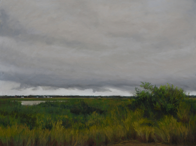 Mary Monk, 'Dark and Stormy Marsh', 2018, LeMieux Galleries