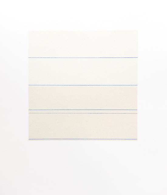 , 'a month of Sundays (November),' 2013, Bartha Contemporary