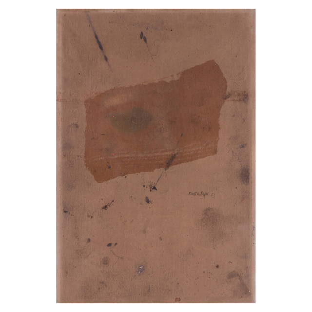 Martial Raysse, 'Untitled', 1963, Drawing, Collage or other Work on Paper, Mixed media on tracing paper mounted on cardboard, PIASA