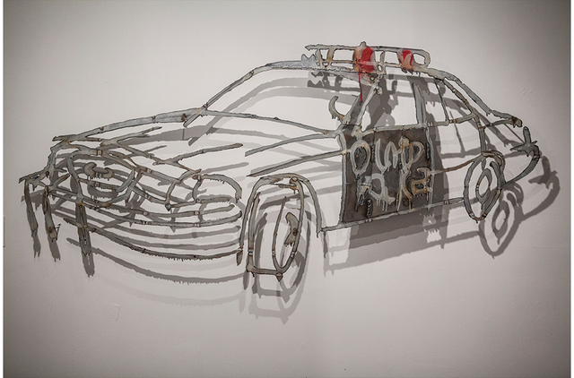 , 'COP CAR, LAPD, ,' 2013, Paul Loya Gallery