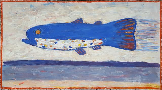 , 'Blue Fish,' 2015, Linda Hodges Gallery