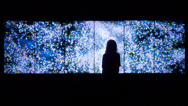 , 'Flowers and People - Dark,' 2015, Pace Gallery