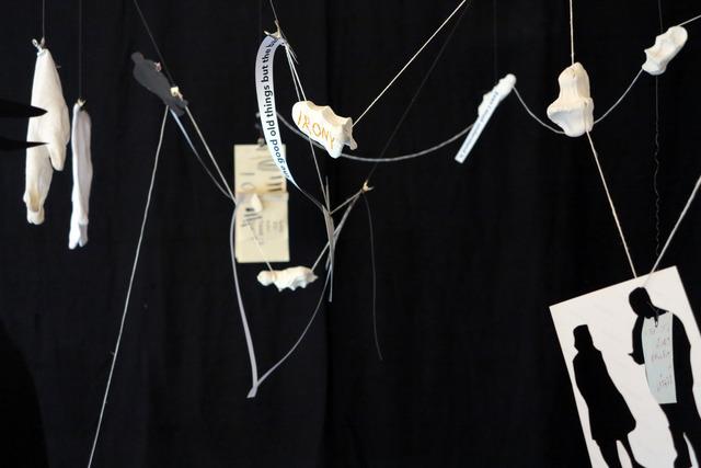 , 'Dialectical Figure (detail),' 2013, hunt kastner
