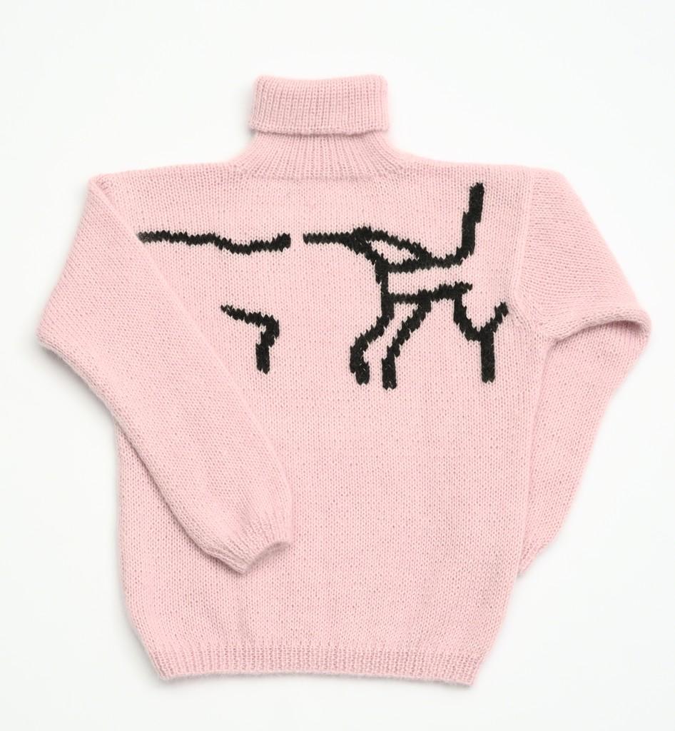 """'Sweater from series """"The Hair Sucks Sweater Shop"""",' 2015,. Jaanus Samma"""