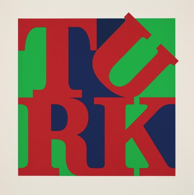 Gavin Turk, 'Turk Love Red', 2009, Paul Stolper Gallery