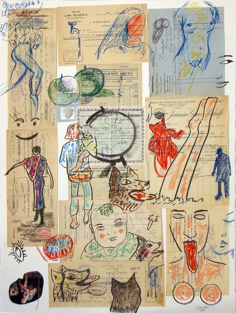 Carmen Calvo, 'Lo que se ve en un objeto', 2010, Rafael Ortiz