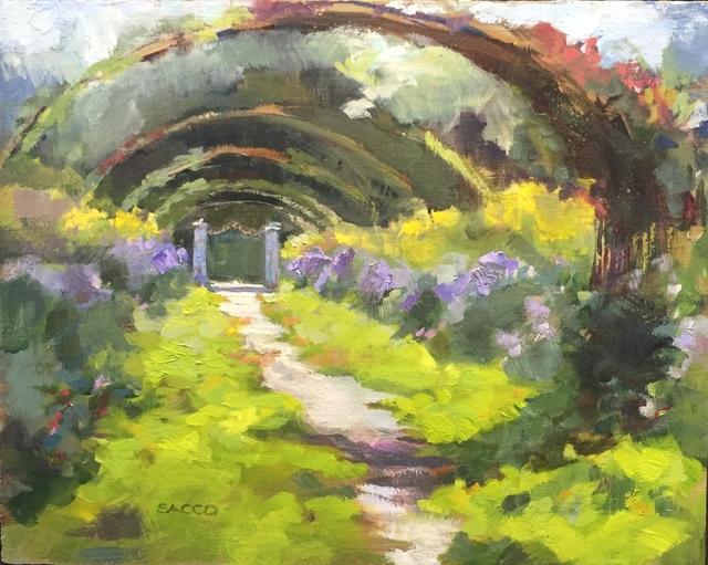 , 'Monet's Garden,' 2017, Cerulean Arts