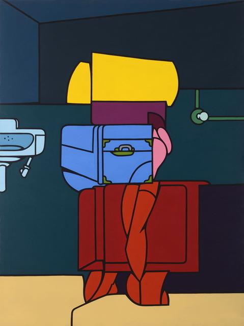 , 'Figura con Valigia,' 1969, Galerie Laurent Strouk