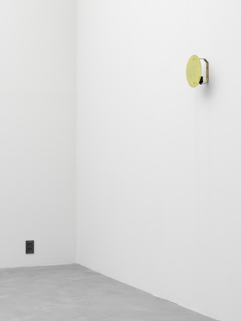 , 'Dead Star (yellow wall lamp),' 2015, Galerie Eva Presenhuber