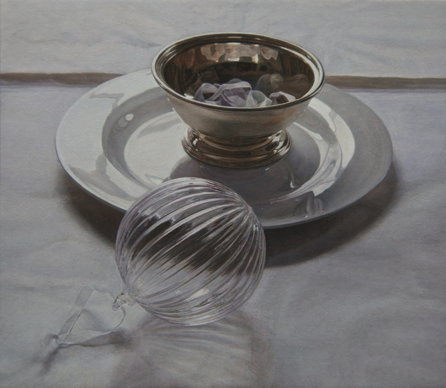Lucy Mackenzie, 'Glass Ball and Silver Bowl', 2013, Nancy Hoffman Gallery