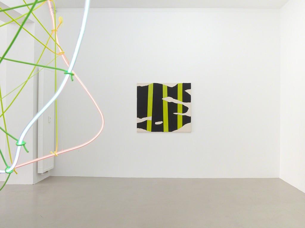 """installation view """"Michael Bauch & Berta Fischer"""", Galerie Karin Guenther, Hamburg zu Gast bei Kadel Willborn, Düsseldorf, Germany, 2018."""