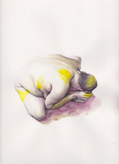 , 'Abasement (yellow),' 2017, Arusha Gallery