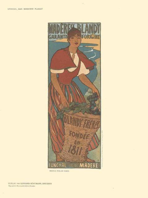 Maurice Realier-Dumas, 'Maurice Realier-Dumas - Maderes Blandy - 1897', 1897, ArtWise