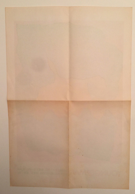 Jack Youngerman, 'Youngerman, OPening, 5 to 7, March 31- April 25, 1964, Betty Parsons Gallery, 24 W 57 New York', 1964, David Lawrence Gallery