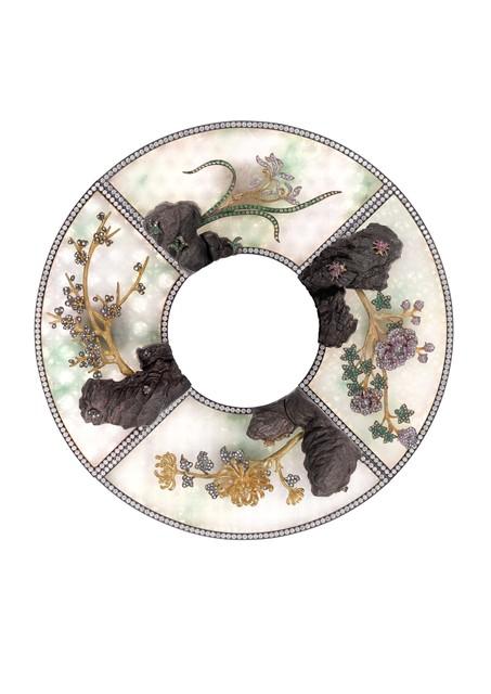 , 'Four Seasons Object d'art,' 2017, Yewn