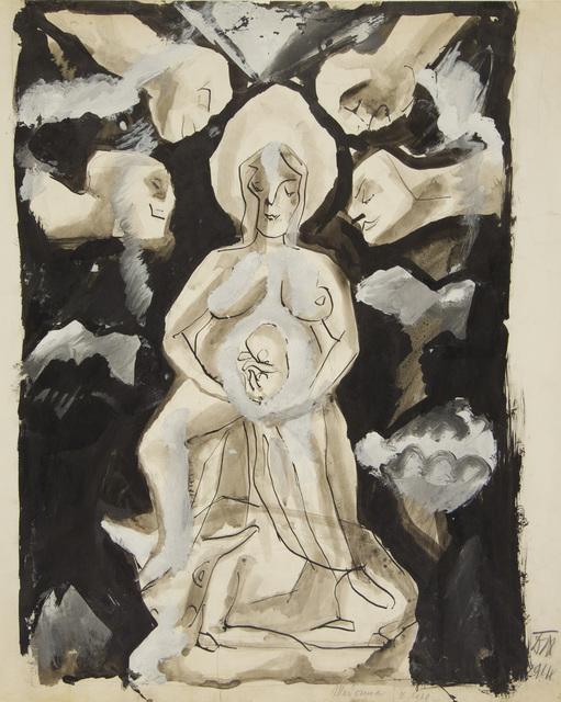 , 'Madonna,' 1914, Galerie St. Etienne