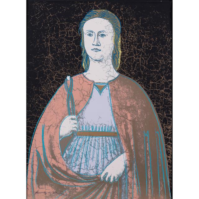 Andy Warhol, 'Saint Apollonia', 1984, PIASA