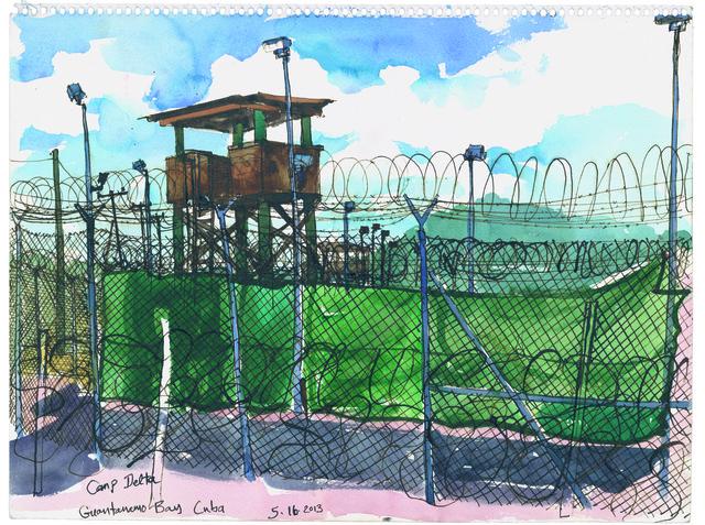 , '5/16/13 Camp Delta, Guantanamo Bay, Cuba,' 2013, Postmasters Gallery