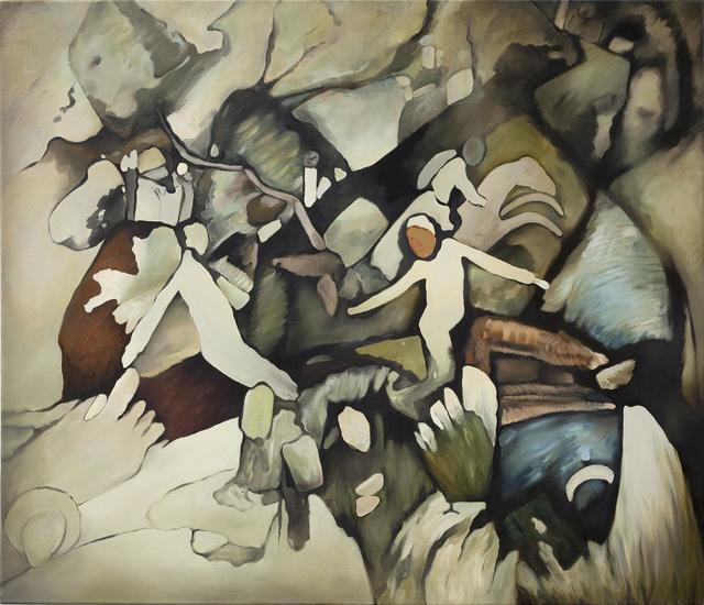 , 'Untitled (after Wasilly Kandinsky),' 2015, lokal_30