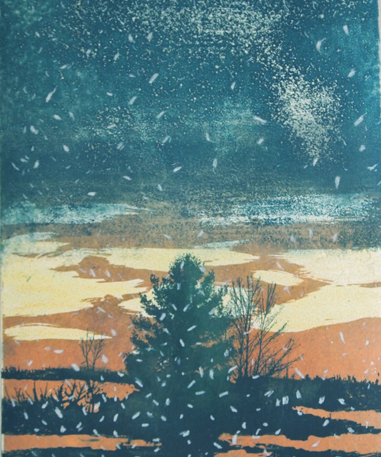 , 'First Snow,' 2017, ArtHelix Gallery