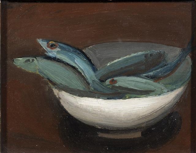 William Scott, 'Fish in a Bowl', 1948, DICKINSON