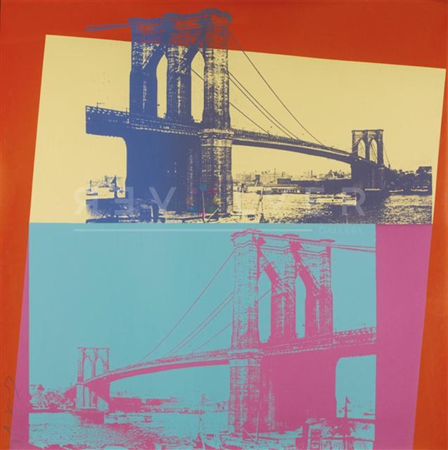 Andy Warhol, 'Brooklyn Bridge', 1983, Gregg Shienbaum Fine Art