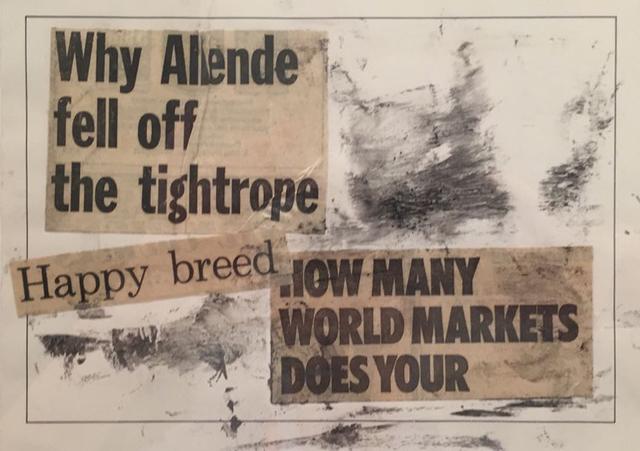 , 'Happy Breed (Chile 1973, un micropoema hecho en el mismo ano),' 1973-2011, Baró Galeria