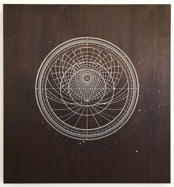 , 'Untitled (Ibn Muqla's Astrolab),' 2014, Sfeir-Semler