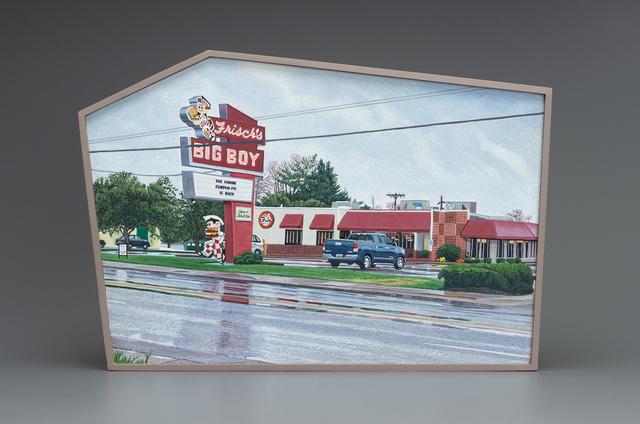 , 'Frisch's Big Boy, Milford, Ohio, US Highway 50,' 2018, Valley House Gallery & Sculpture Garden