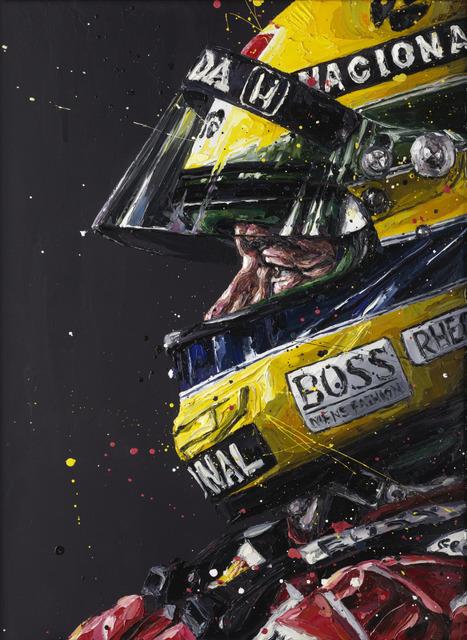 , 'Senna Profile,' 2015, Imitate Modern
