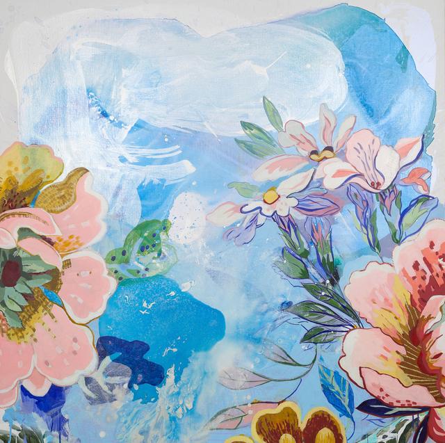 , 'Blue Garden,' 2015, Emerson Dorsch