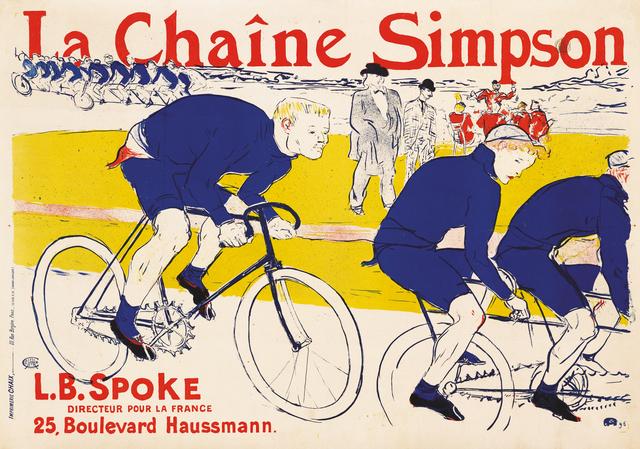 , 'La Chaîne Simpson,' 1896, Montreal Museum of Fine Arts