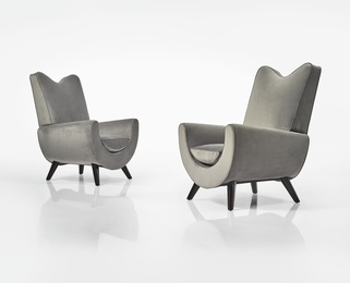 "Pair of ""Ambassador"" Armchairs"
