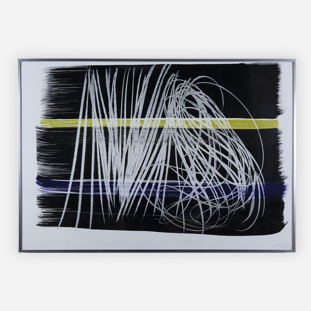 Hans Hartung, 'P. 1970 A.17', 1970, Capsule Gallery Auction