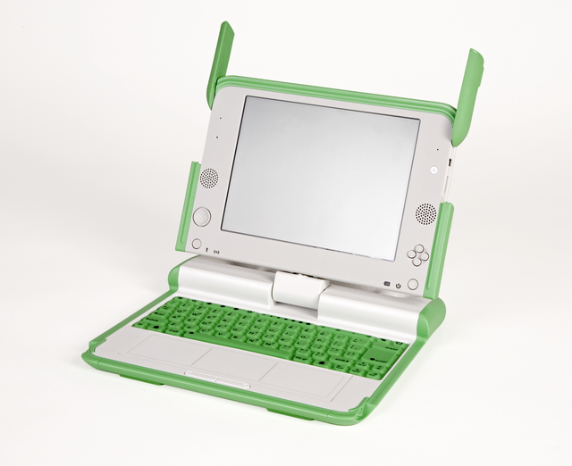 , 'One Laptop Per Child XO laptop computer,' 2007, San Francisco Museum of Modern Art (SFMOMA)