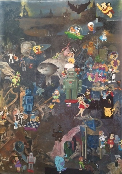 , 'Aliens Visit Hell,' 2014, Tasende Gallery