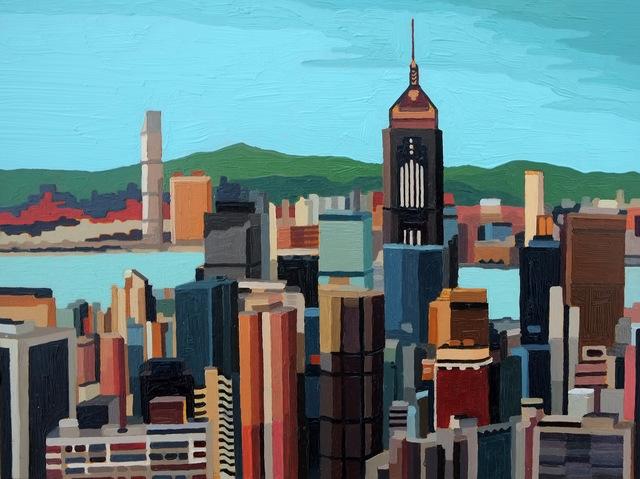, 'Hong Kong Skyline IV,' 2016, Cynthia Corbett Gallery