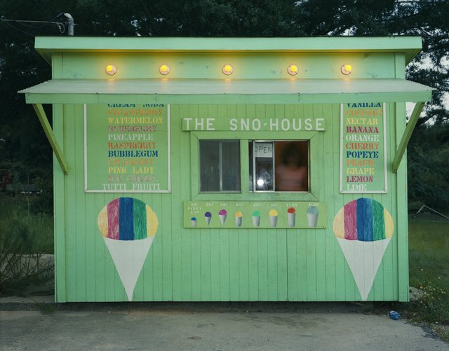 , 'The Sno-House, US 11, Moselle, MS,' 1981, Robert Mann Gallery
