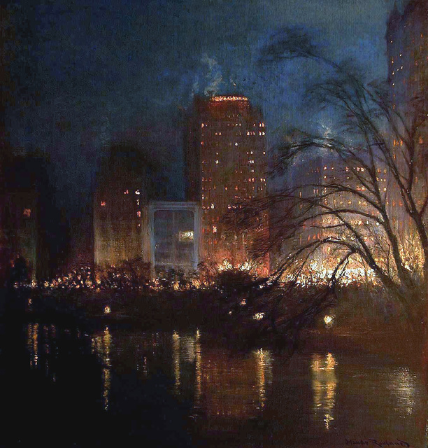 , 'Fifth Avenue from Central Park, New York,' ca. 1920, MacConnal-Mason Gallery