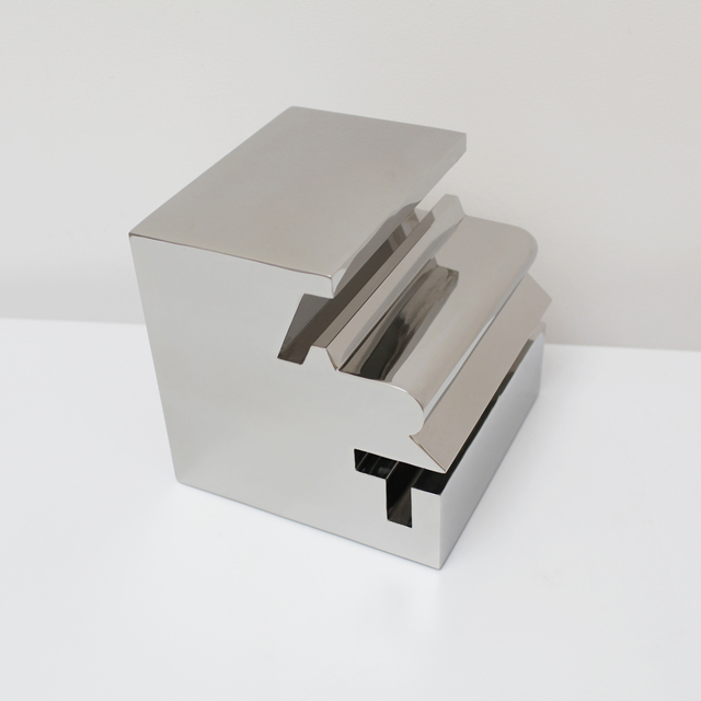 Bernard Quentin, 'ART CUBE', 2012, Design/Decorative Art, Stainless steel, Galerie Loft