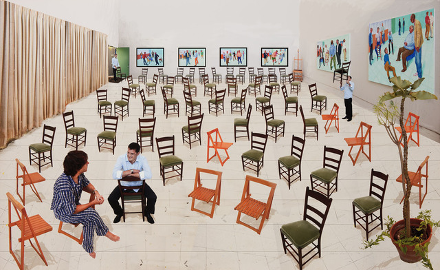 , 'Sparer Chairs,' 2014, Galerie Lelong & Co.