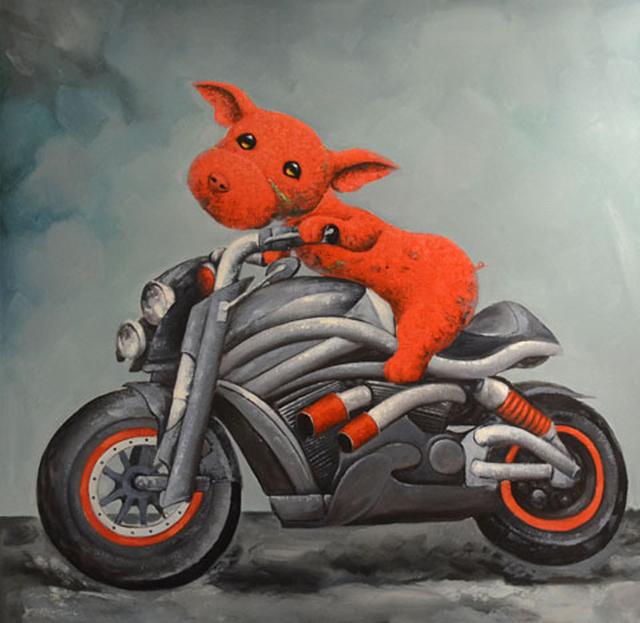 Wang Zhi Wu 王志武, 'Easy Rider', 2015, Masters Gallery