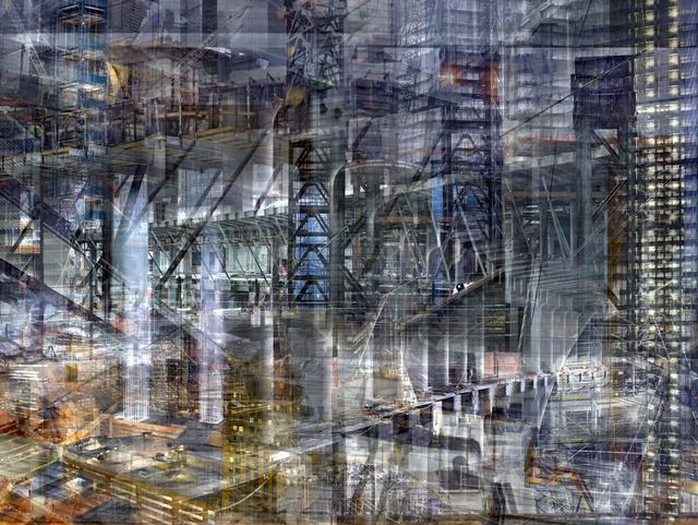 , 'W.T.C: Concrete Abstract#16,' 2011-2013, Julie M Toronto